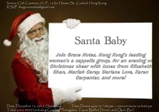 Santa Baby at Club Lusitano